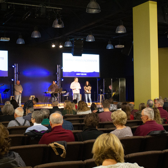 Sunday Announcements with Pastor Beare
