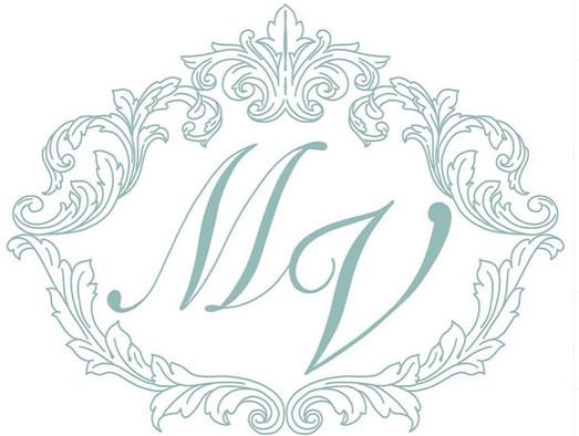 monogram design with couple's initials