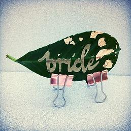 bride leaf place card.JPG