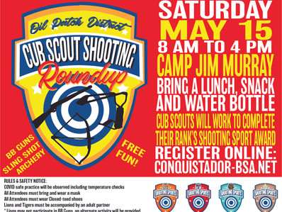 Cub Scout Shooting Roundup