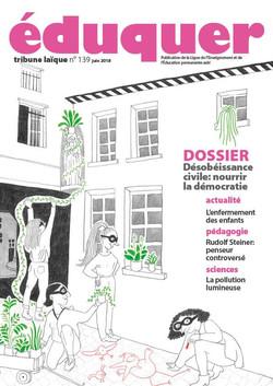 couverture magazine éduquer