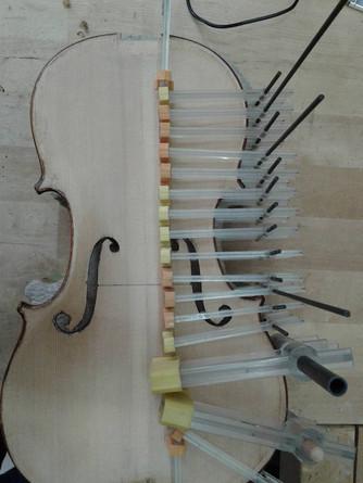 1890 English Cello Restoration