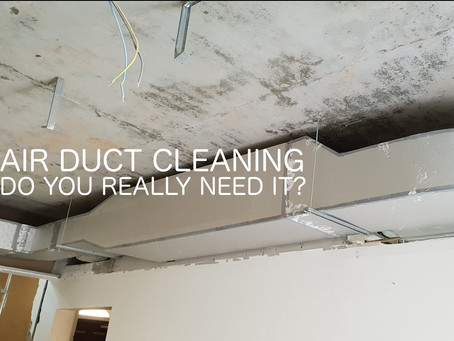 Are you planning to have your air ducts cleaned? Think again.