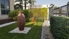 Custom Garden Wooden Seperator Dubai