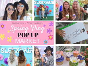 Spring Fling Playback - A Glimpse of  Sleekhair x Alyssa Lynn Denny's Lively Shopping Event