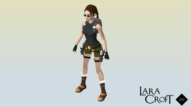 New outfit for Lara Croft Go
