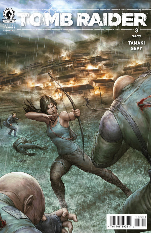 """Preview pages of """"Tomb Raider II #3"""""""