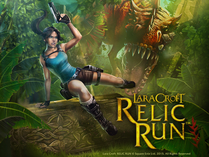 Lara Croft Relic Run LAUNCH DAY