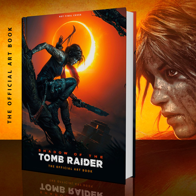 Announced the art book of Shadow of the Tomb Raider