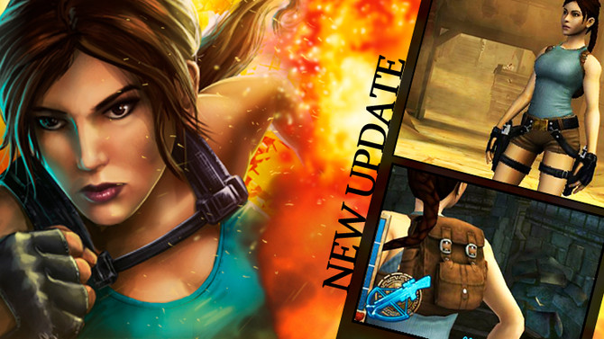 New update for Lara Croft Relic Run. Play with the classic outfit!