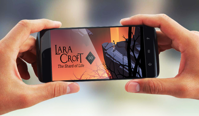 "New update for Lara Croft Go ""The Shard of Life"""