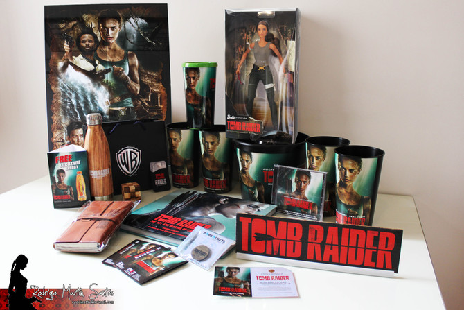 New items added to my Tomb Raider Collection