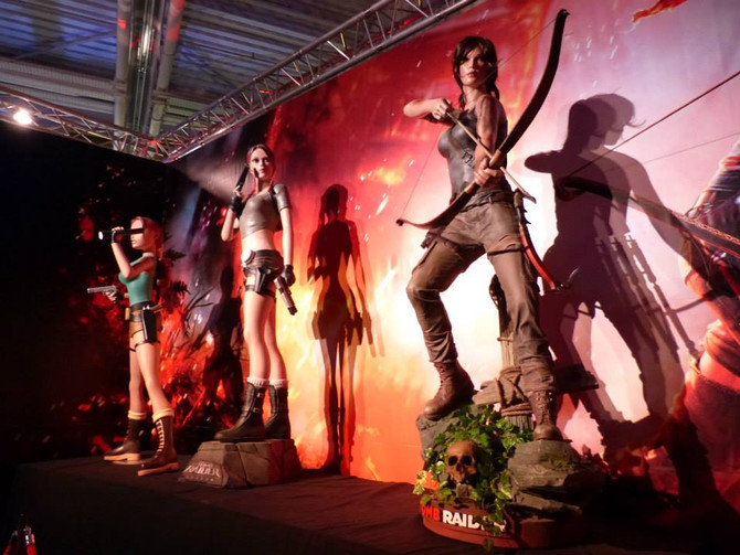"""Tomb Raider is in """"Videogame story The exhibition"""" in Paris."""