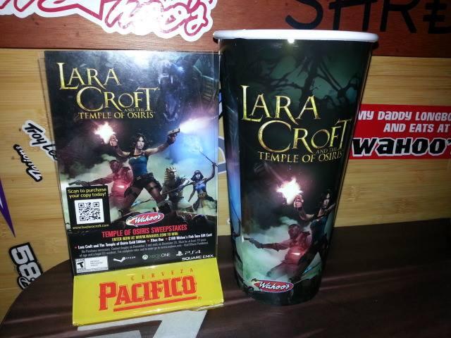 Wahoo's Fish Taco Lara Croft Cup