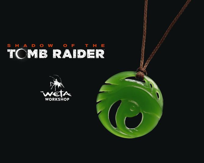 Announced new jade pendant of Lara Croft