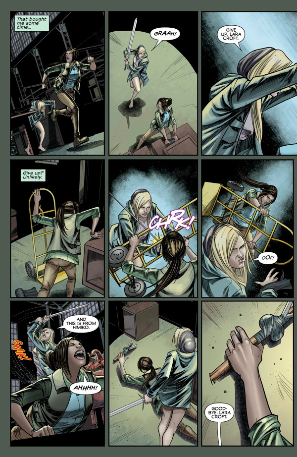 Preview pages of Tomb Raider 02 #11