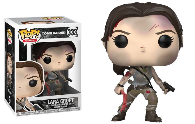 Announced new official figure of Funko based on the Tomb Raider reboot!
