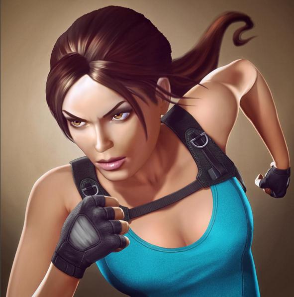 New official art from Lara Croft Relic Run