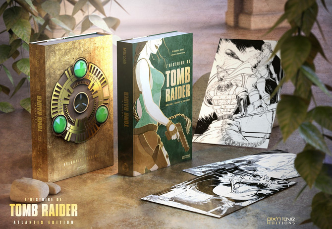 "Announced a new unofficial Tomb Raider book in French, ""L'Histoire de Tomb Raider  1996-200"