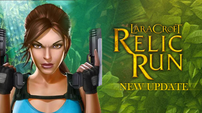 New update of Lara Croft Relic Run