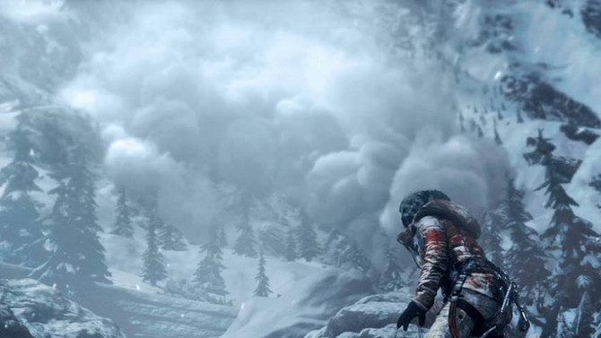 New screenshot of Rise of the Tomb Raider shown by Gameinformer in the latest video interview