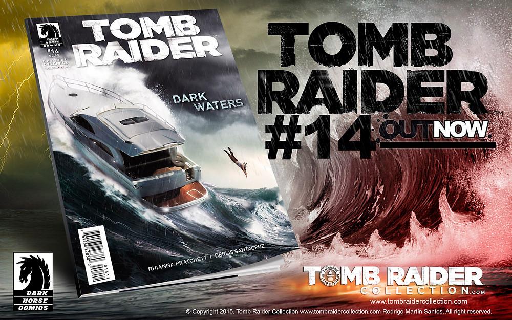 tomb raider comic cover 14