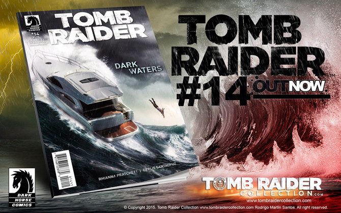 Now on sale: Tomb Raider Comic #14