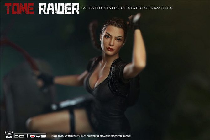 Announced a new unofficial statue of Tomb Raider