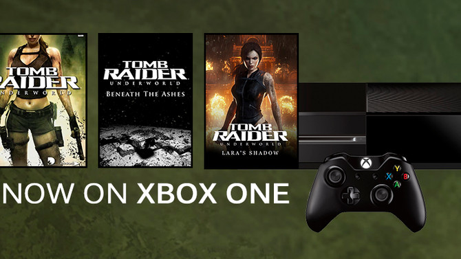 Tomb Raider Underworld Now available on XBox One