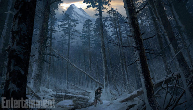 A new set of concept arts of Rise of the Tomb Raider