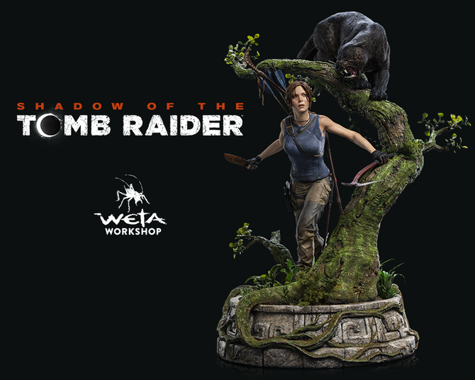 New Shadow of the Tomb Raider statue by Weta Workshop