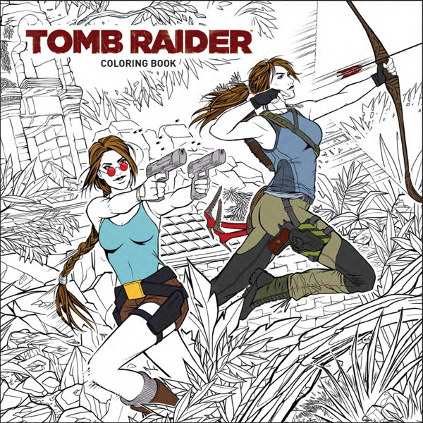 New Tomb Raider Coloring Book