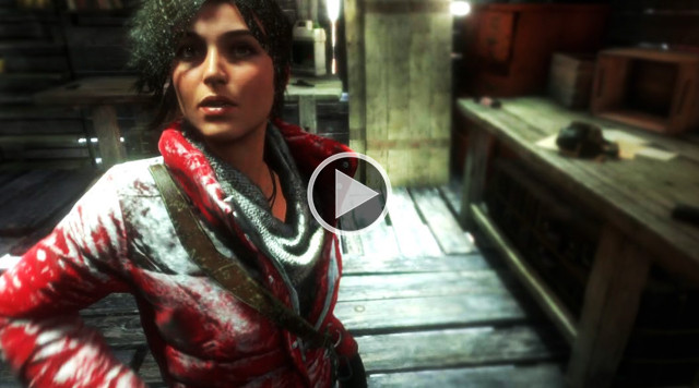 "New gameplay Rise of the Tomb Raider ""Military installations of the Soviet Union"""