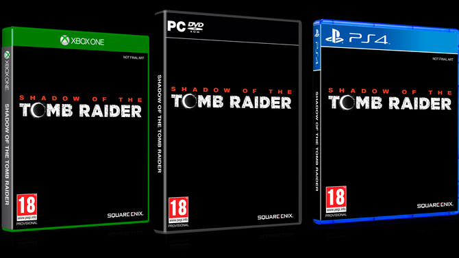 Officially announced Shadow of the Tomb Raider and new Teaser Trailer.