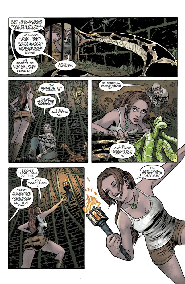 Tomb Raider Comic #17 - Preview pages