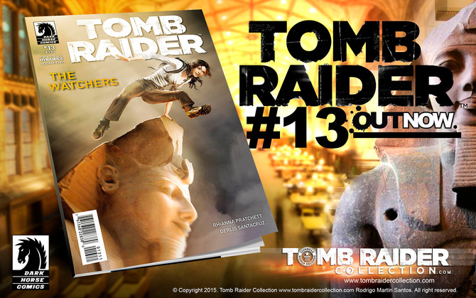 Tomb Raider Comic #13 Now on sale