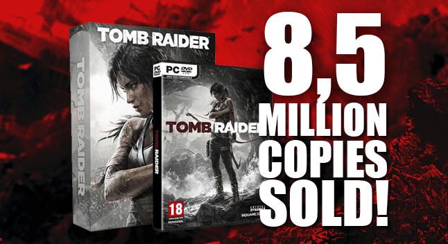 Tomb Raider (2013) has sold 8,5 million copies