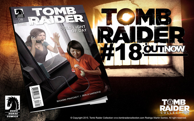 Tomb Raider Comic #18. OUT NOW!