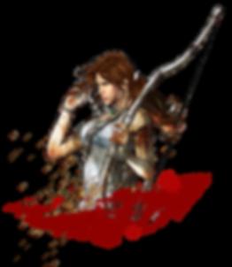 Lara Croft survivor