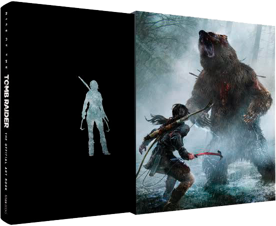 "Preview pages of the book ""Rise of the Tomb Raider: The Official Artbook"""