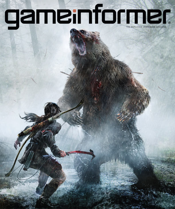 GameInformer March Cover Revealed – Rise Of The Tomb Raider