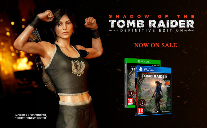Shadow of the Tomb Raider Definitive Edition is now on sale.
