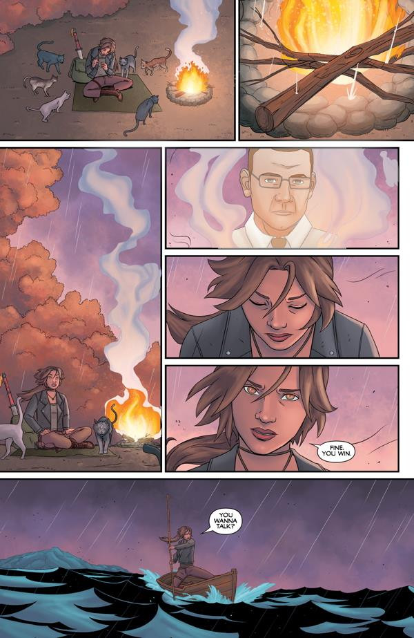 Preview pages Tomb Raider Survivor´s Crusade 3