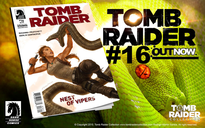 Tomb Raider Comic #16 - OUT NOW!