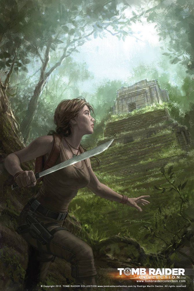 New cover for Tomb Raider Comic #15 by Andy Park