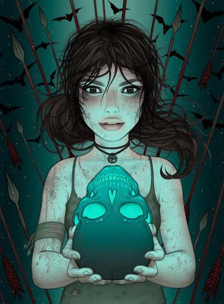 "Limited-edition poster series: Tara McPherson  ""Lara's Journey"""