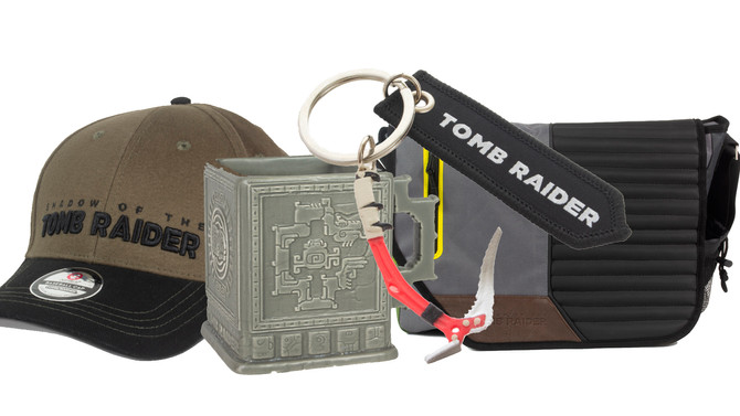 Announced new official merchandise of Shadow of the Tomb Raider