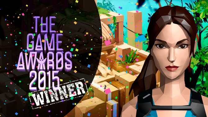 Lara Croft Go is the Best Mobile/Handheld Game at the Game Awards!