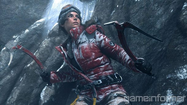 Revealed the first screenshots of Rise of the Tomb Raider
