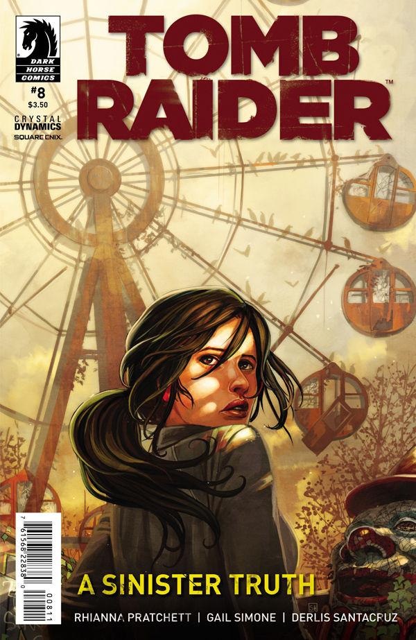 Comic: Tomb Raider #8 is now on sale.